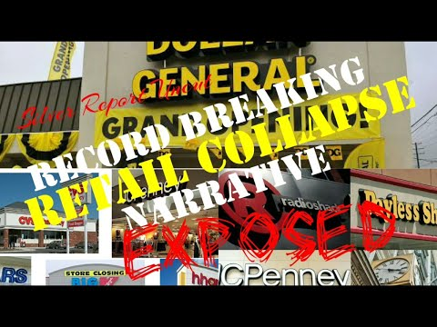 Retail Collapse! Record Store Closings! Online Sales Narrative Exposed.