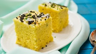 Khaman Dhokla Using Curd In Hindi | Besan Dhokla Without ENO | Gujarati Snack Recipe