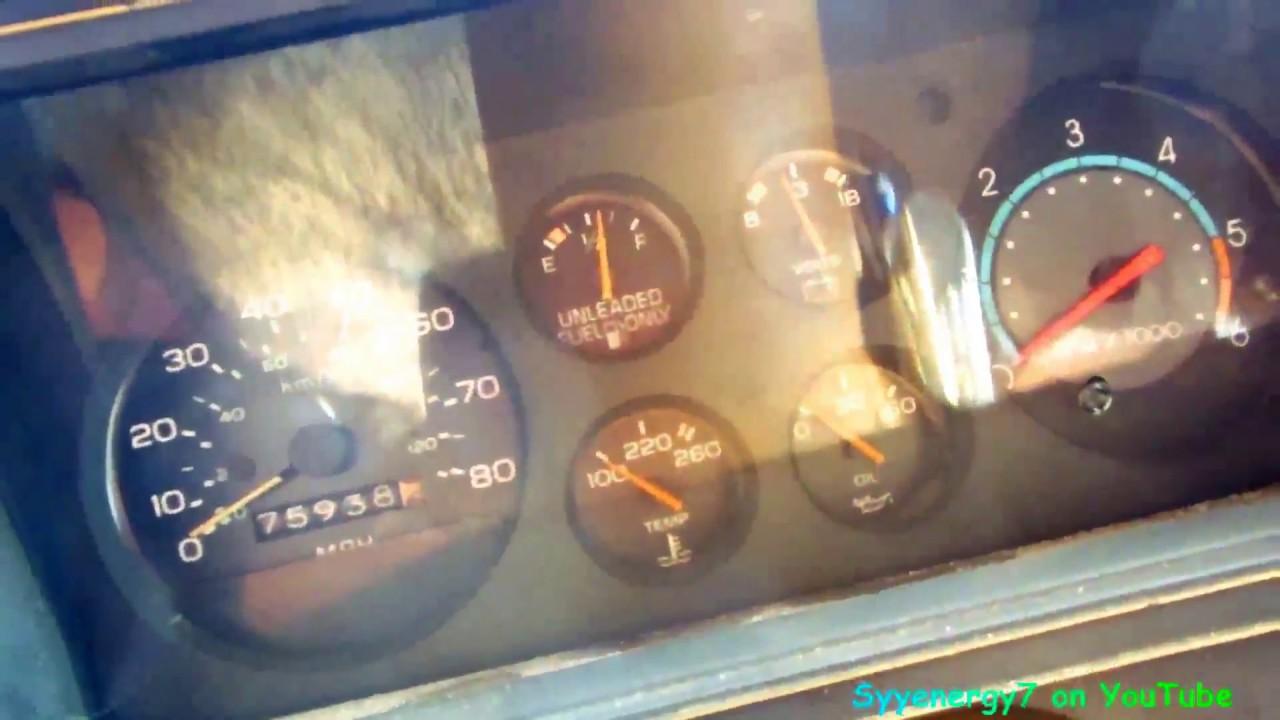 1978 el camino testing fuel sending unit and fixing rust [ 1280 x 720 Pixel ]