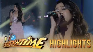 It's Showtime: Marielle sings her new single
