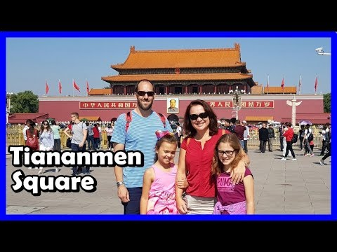 Walk Around Tiananmen Square - Beijing, China | China with Kids