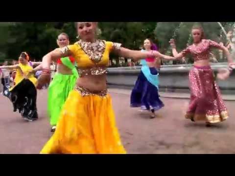 Флешмоб Flasmob Индийский танец