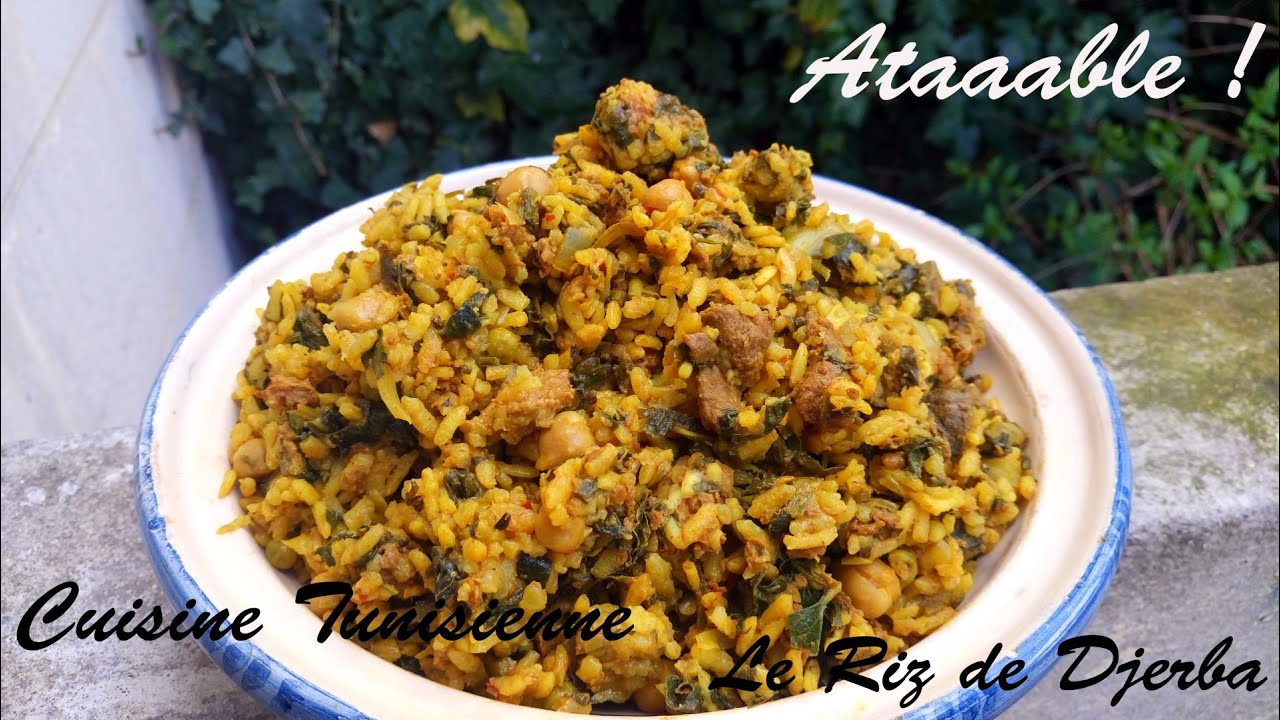 Cuisine tunisienne riz djerbien youtube - Blog de cuisine tunisienne ...