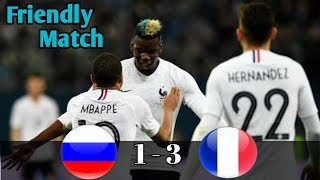 Hasil Pertandingan Rusia vs France● 1-3 ● HIGHLIGHTS ● 27 Maret 2018● All Goals ●|| HD