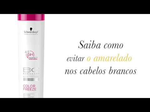 Bonacure Color Freeze Silver Shampoo - Schwarzkopf - Chic Mix