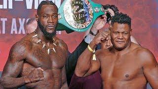 Deontay Wilder vs. Luis Ortiz II - FULL WEIGH IN & FINAL FACE OFF | Fox PBC Boxing