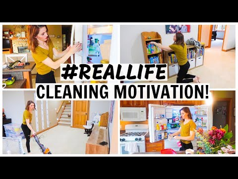 Real Life Cleaning Motivation | Actual Mess House Cleaning | Speed Cleaning | SPRINT CWM