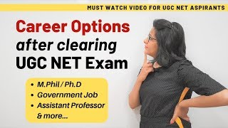 Genius! How to figure out Career Options after clearing UGC NET/JRF