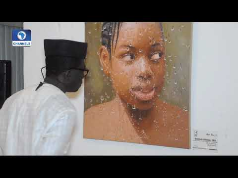 Art House: Hyper Realistic Artist,Olumide Oresegun Exhibits At Mydrim Gallery