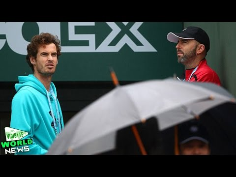 Andy Murray's French Open quarter-final postponed