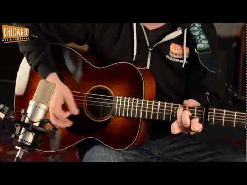Martin 00-DB Jeff Tweedy Custom Signature Acoustic