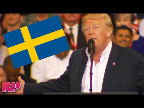 Donald Trump Makes Up Terror Attack In Sweden During Speech