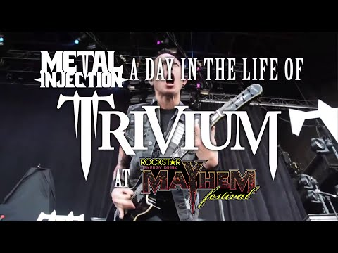 TRIVIUM A Day In The Life On MAYHEM FEST | Metal Injection