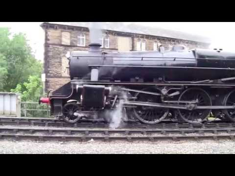 Keighley and Worth Valley Railway - LMS 5MT 45305 at Keighley Station