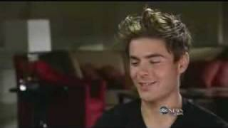 Zac Efron Talks About Vanessa Hudgens at Nightline Interview