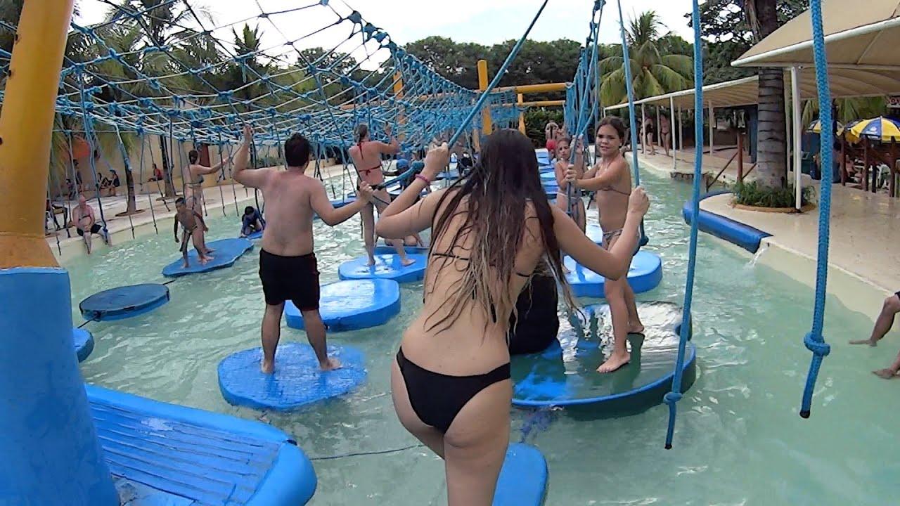 Piscina Maluca Water Attraction at Thermas dos Laranjais  YouTube