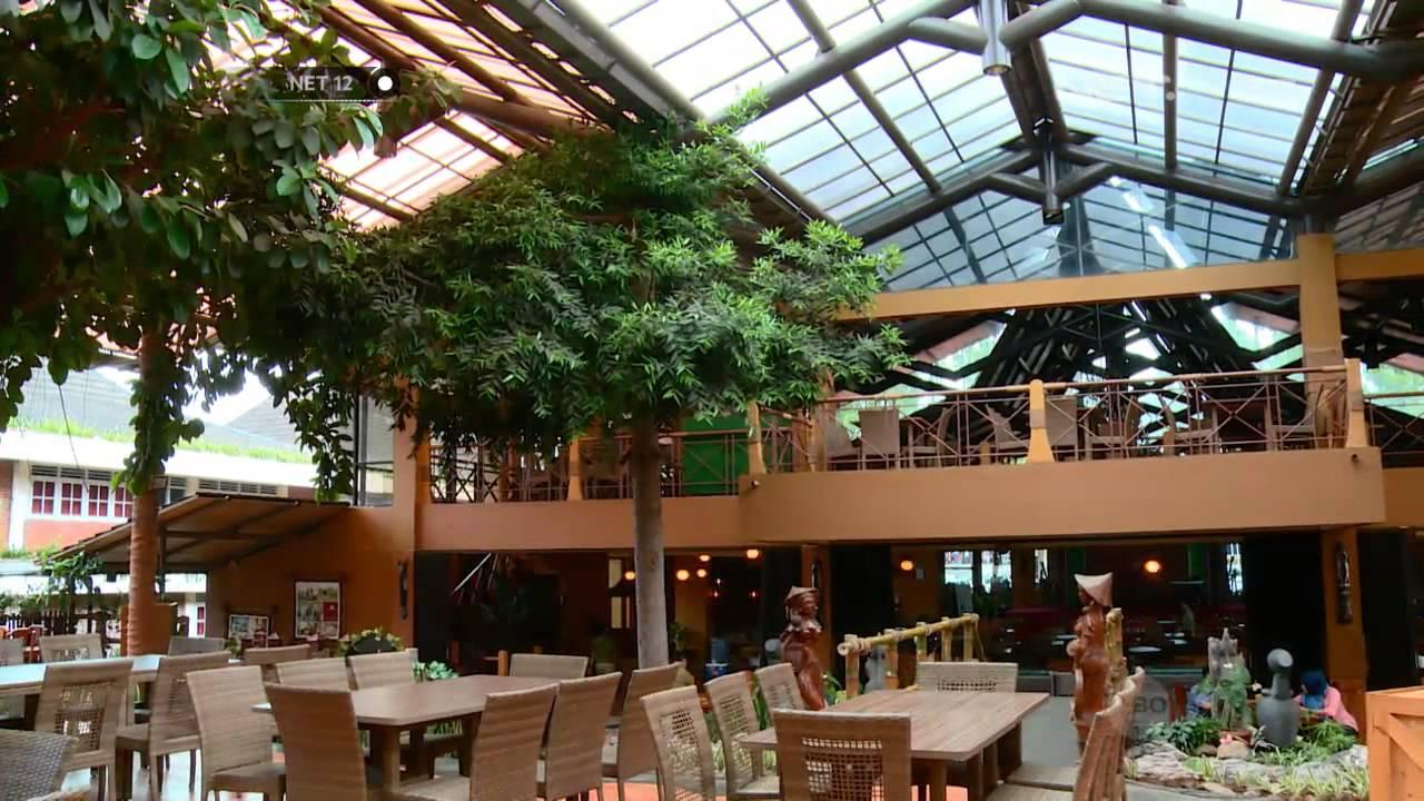 Net12 Restoran Bernuansa Alam Dengan Macan Tutul Di