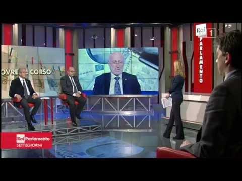 Rai parlamento settegiorni intervista al presidente di for Parlamento rai