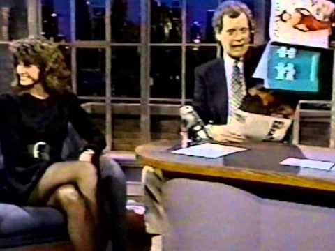 Joan Severance on Late Night 1989