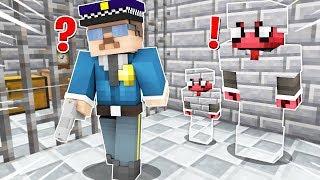FAKİR GÖRÜNMEZ OLUP HAPİSHANEDEN KAÇIYOR! 😱 - Minecraft
