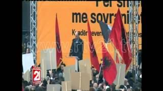 protesta e opozites flet visar ymeri 09 01 2016