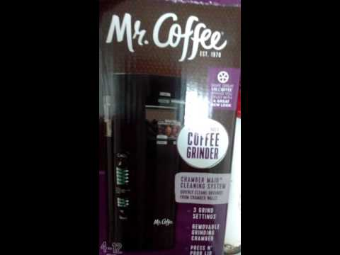 Mr. Coffee coffee grinder - IDS77 model - electrical cord - John V.  Karavitis