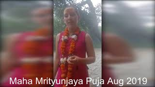 Maha Mrityunjaya Puja for Diana Carolina (From Colombia)