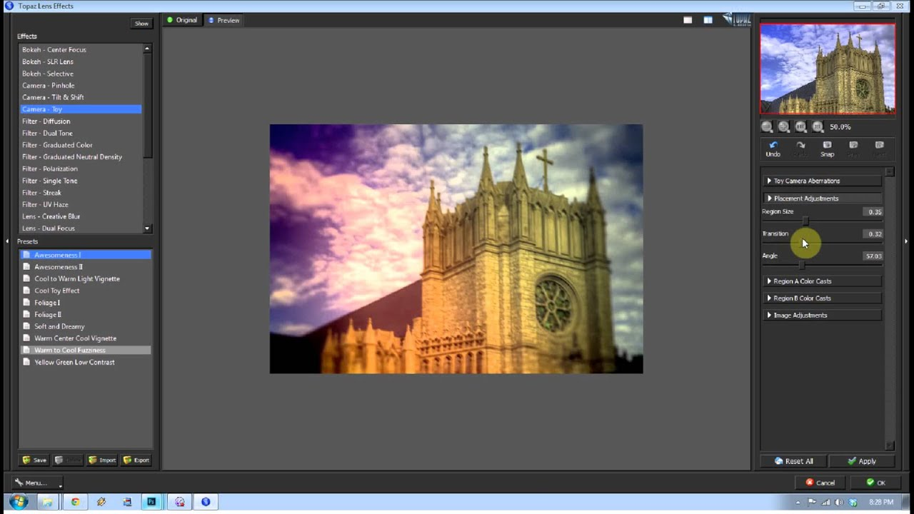 Download Topaz Labs Lens Effects Tutorial #1404   TOOTAAL