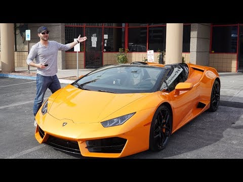 I Rented A Las Vegas Lamborghini, WIFE REACTS*