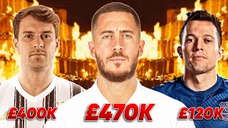 10 DUMBEST Wages In Football!