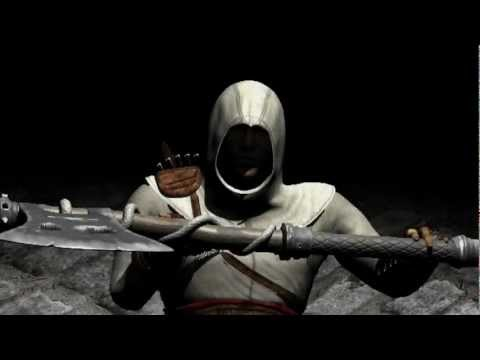 Assassins creed Altair 3d model early animation pt 3