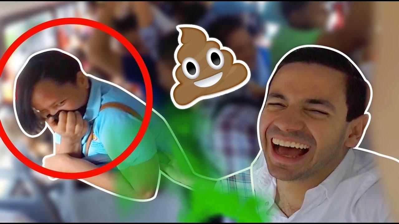 Cagadas Y Peos Videos Porno ¡la broma del olor a caca en pÚblico! (¡Épica!💩😂)