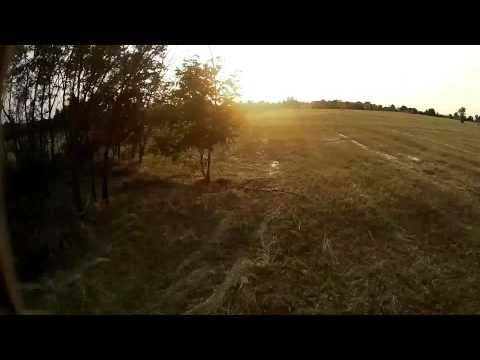 mini 250 fpv quadcopter signal loss crash sample