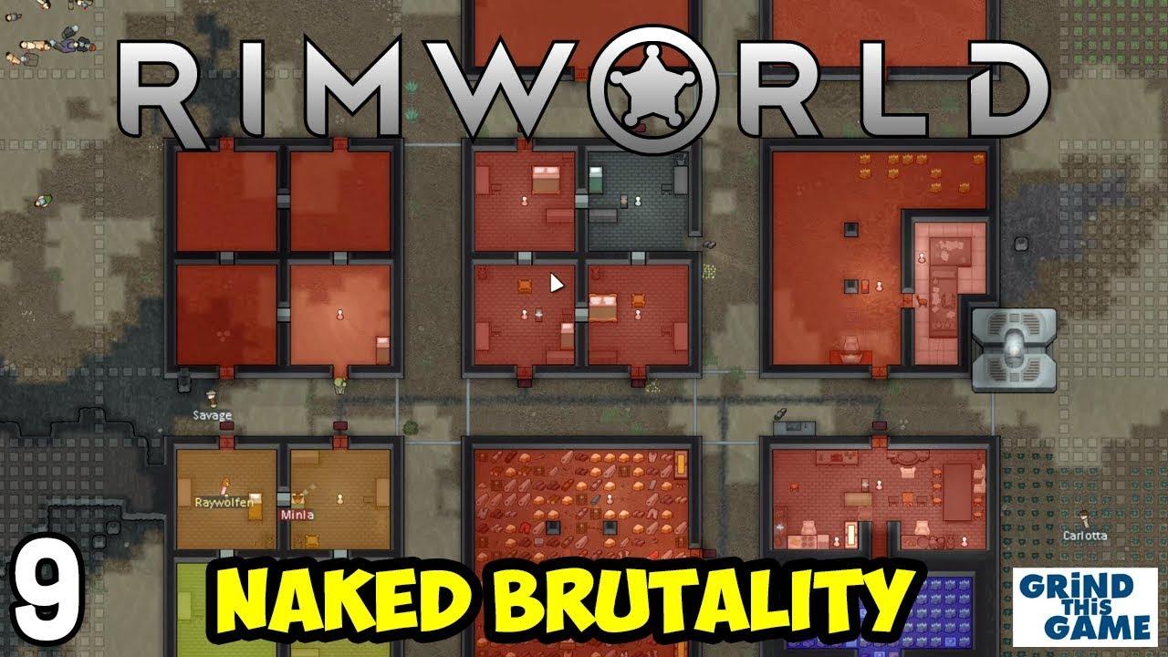Rimworld 1 0 - Naked Brutality Megabase #9 - Hi-Tech Research Bench - [4k]