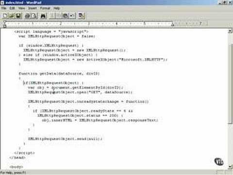 Problems creating an XMLHttpRequest Object -Ajax tutorial 14