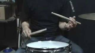 DB drag paradiddle NO 1