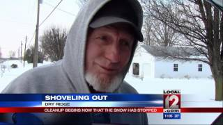 Local 12 checks up on snow, travel conditions throughout Tri-State