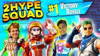 2HYPE Fortnite Squads Ft. Jesser, LSK, and Jiedel!!