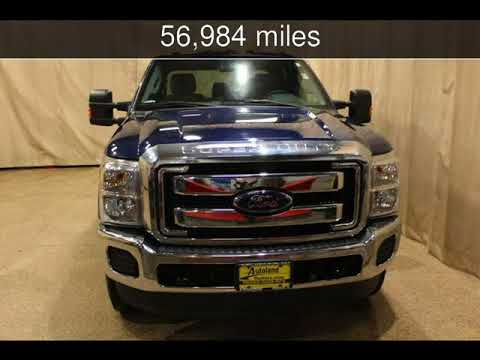 2012 Ford Super Duty F-250 Pickup XLT Used Cars - Roscoe,Illinois - 2018-01-19