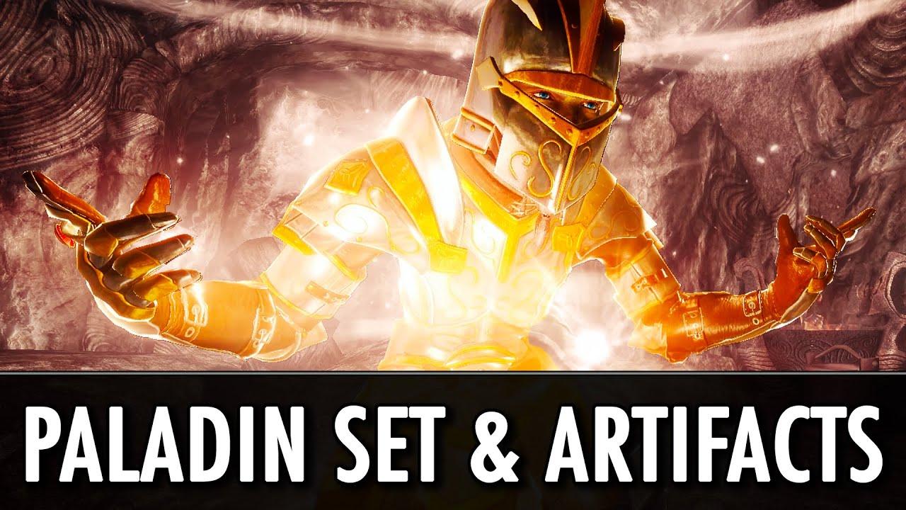 Skyrim Mod: Paladin Armor Set & Artifacts - YouTube