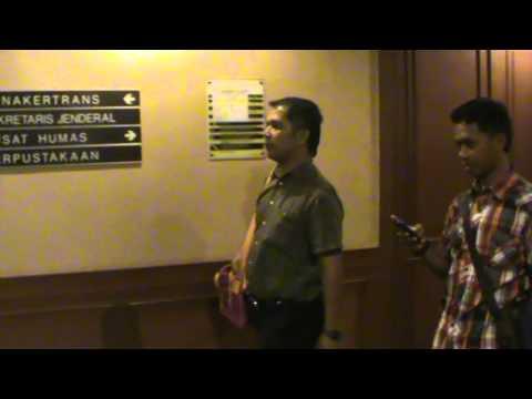 "Dokumentasi LSM ""CIFOR"" 2014 Mr. Azhar & Mr. Hendra Di Kemenakertrans R.I"