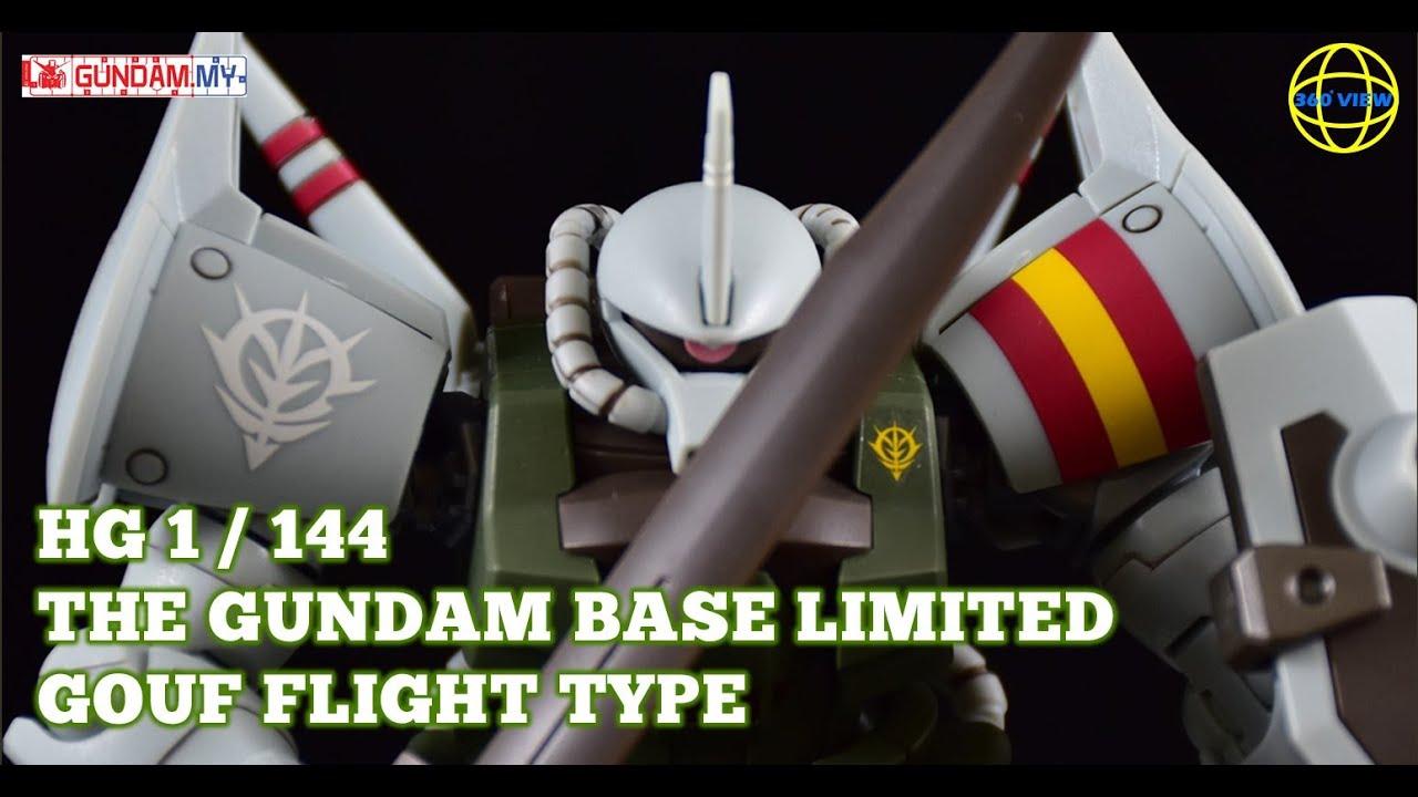 HG Gouf Flight Type Gundam Base Limited Review