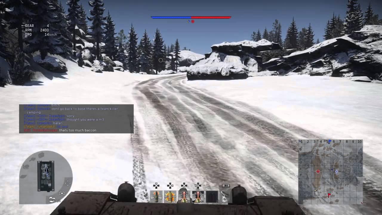 War Thunder On PS4 Tank Simulator Battles - YouTube