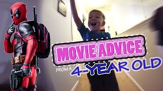 Movie Advice From a 4-Year Old: Deadpool (2016) Ryan Reynolds