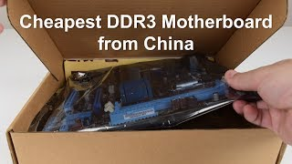 Gaming on Cheapest DDR3 Motherboard from AliExpress