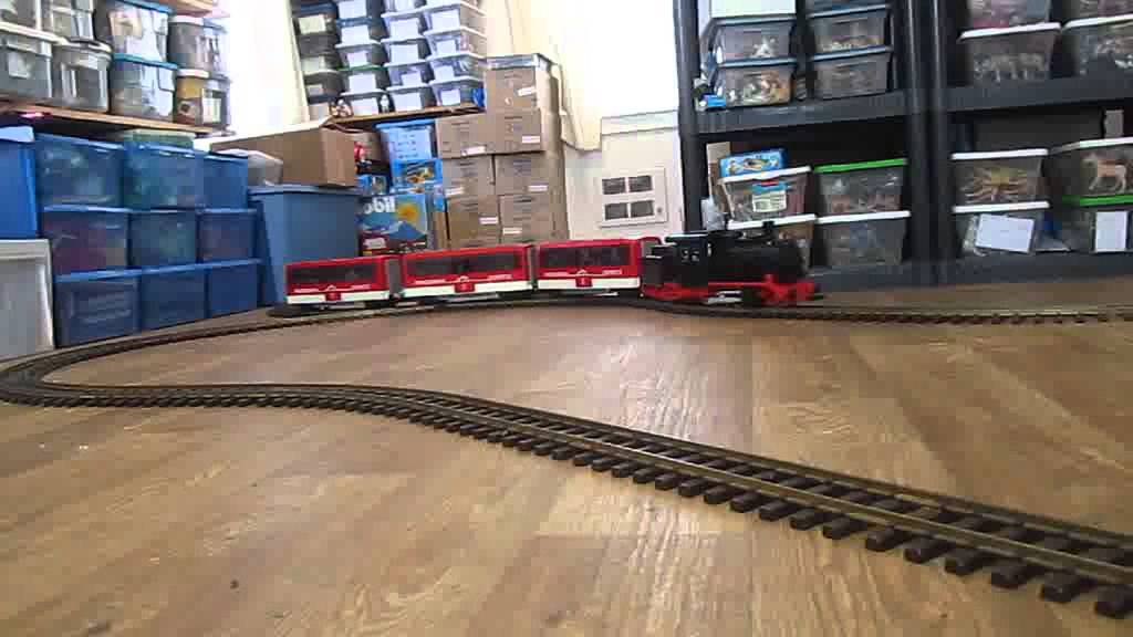 Playmobil Garden Train '08 - YouTube |Playmobil Train Layouts