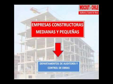 Wocout chile auditoria y control de obras de empresas for Empresas constructoras