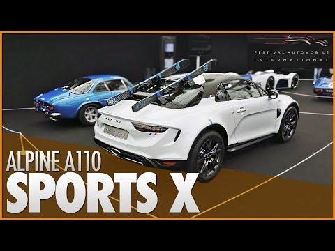 🚗 ALPINE A110 SPORTS X   Une version SUV pour la Bombinette 🇫🇷 ?