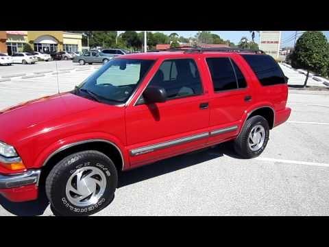 Sold 2001 Chevrolet Blazer Lt 4x4 Meticulous Motors Inc Florida For