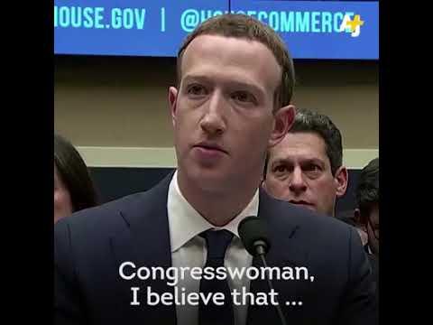 Mark Zuckerberg unable to answers